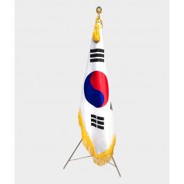 태극기 황금봉 삼발이 정기자수 세트(vat포함)