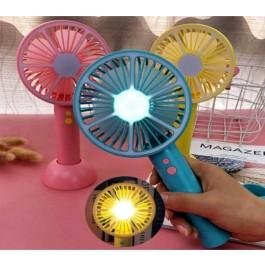 LED 휴대용 미니 선풍기